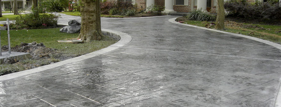 Stamped Concrete Driveways Palermo Construction